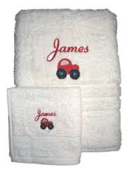 Australia Embroidered Towels